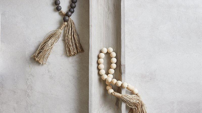 Wood Beads set of 2