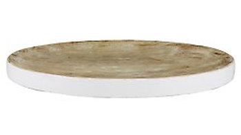 Enamel Wood Tray
