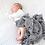 Thumbnail: Organic Cotton Muslin Swaddle Blanket/Wall Art - Stripes