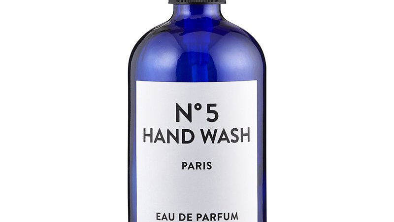 Hand Wash Bottle with Pump - Amber or Blue