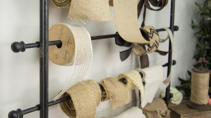 Ribbon or Gift Wrap rack