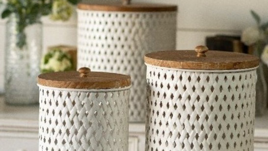 Woven Canisters Set of 3