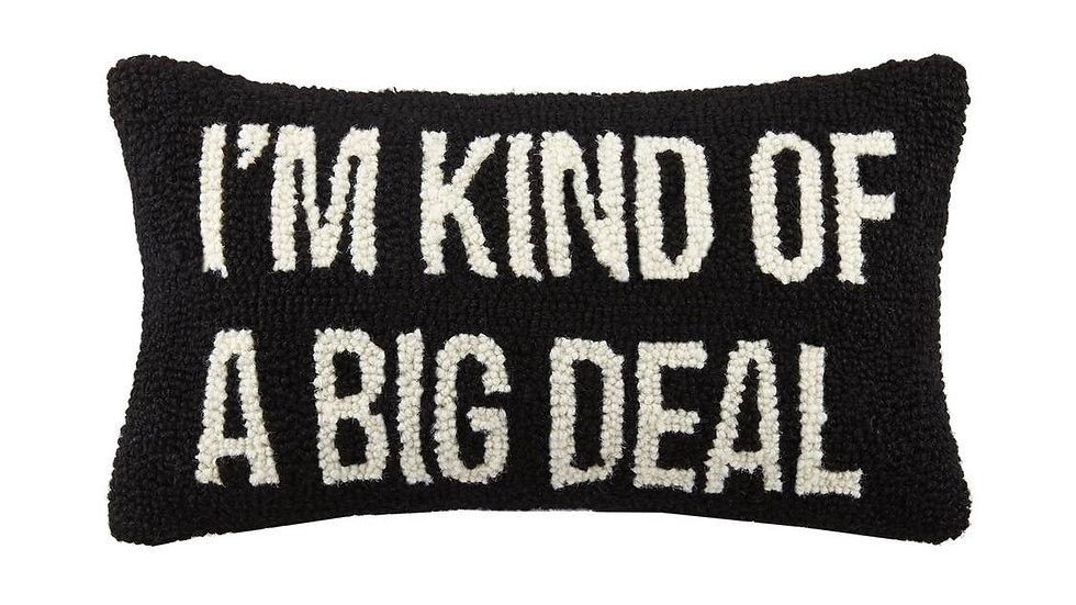 Big Deal Hook Pillow
