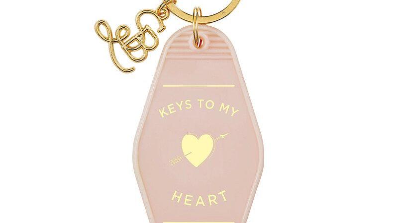 KEYS TO MY HEART Keychain