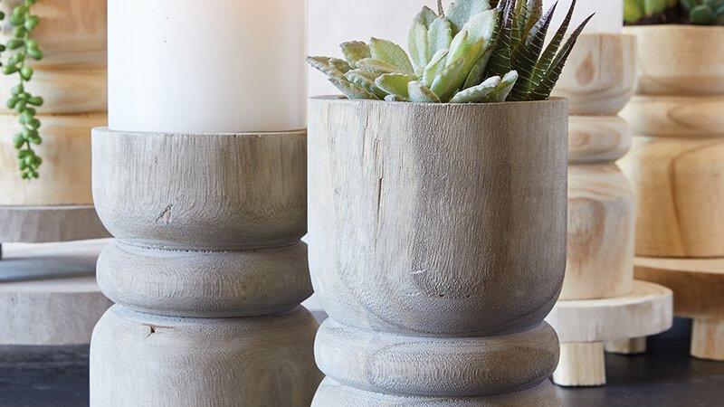 Succulent Planter/ Candle Holder - Set of 2
