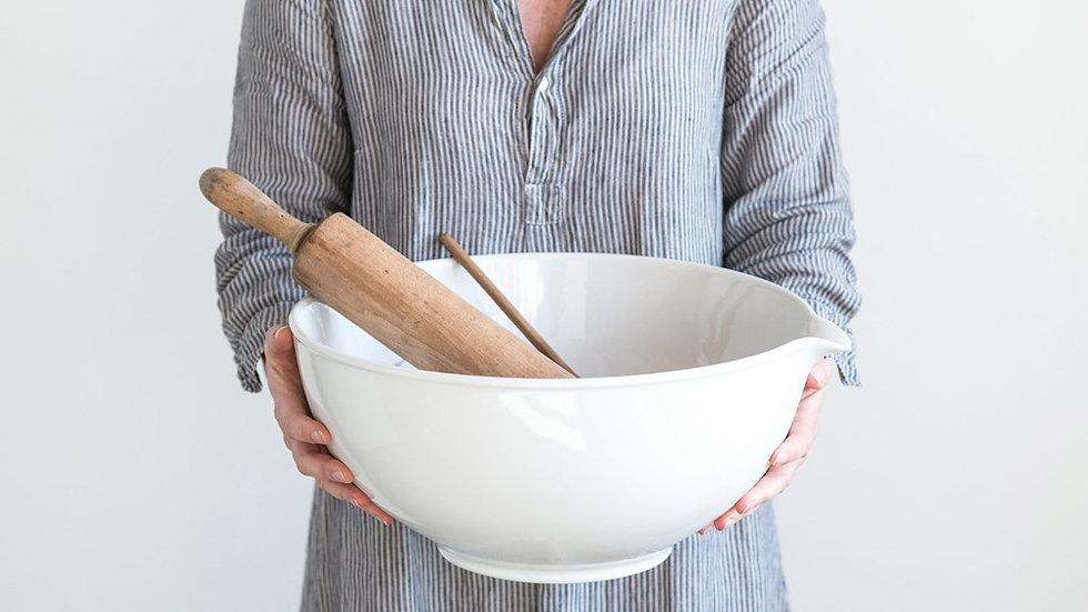 Stoneware Vintage Reproduction Batter Bowl
