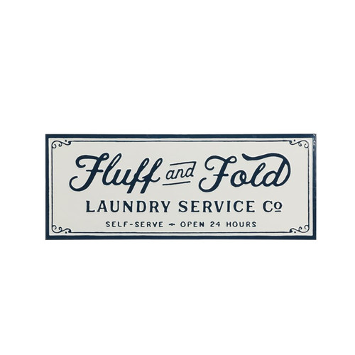 Shop Fluff & Fold Laundry Sign from JBD Decor on Openhaus