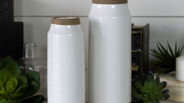 Ceramic Vase set of 2