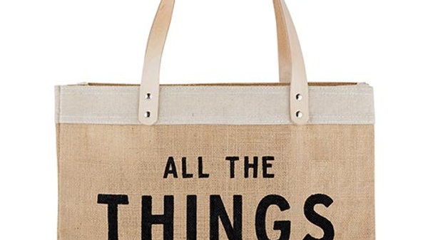 All The Things Jute Bag