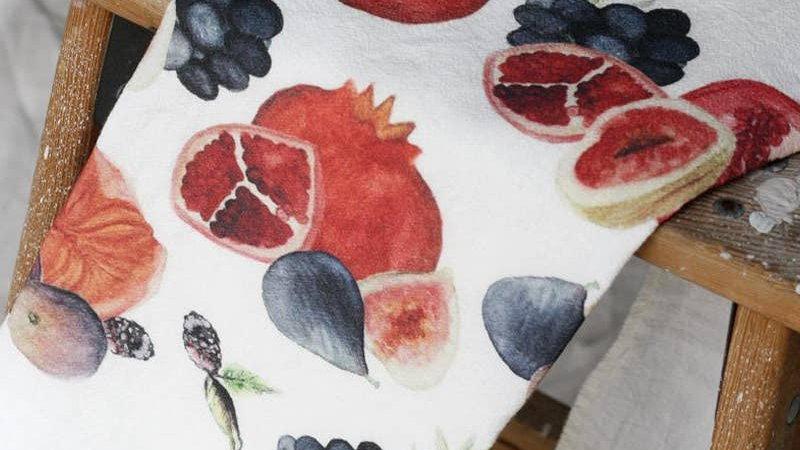 Fruit Tea Towel