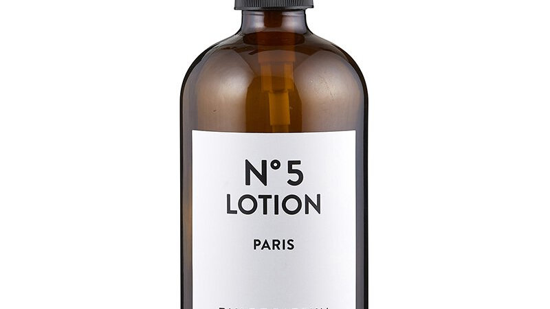 Lotion Bottle with Pump - Amber or Blue