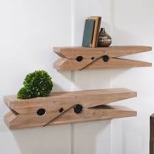Shop Clothespin Shelfs Set of 2 from JBD Decor on Openhaus