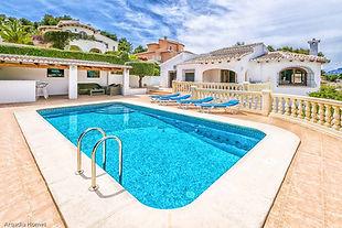 Villa Hermanos holiday let - Javea - Arq
