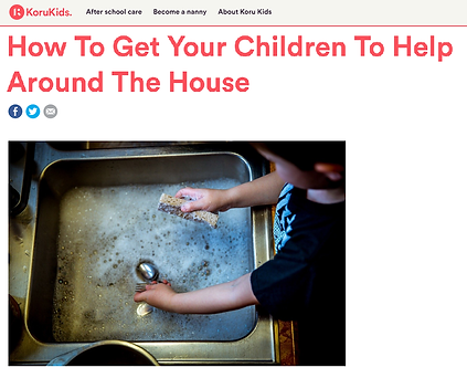 Koru Kids article - How to get your chil