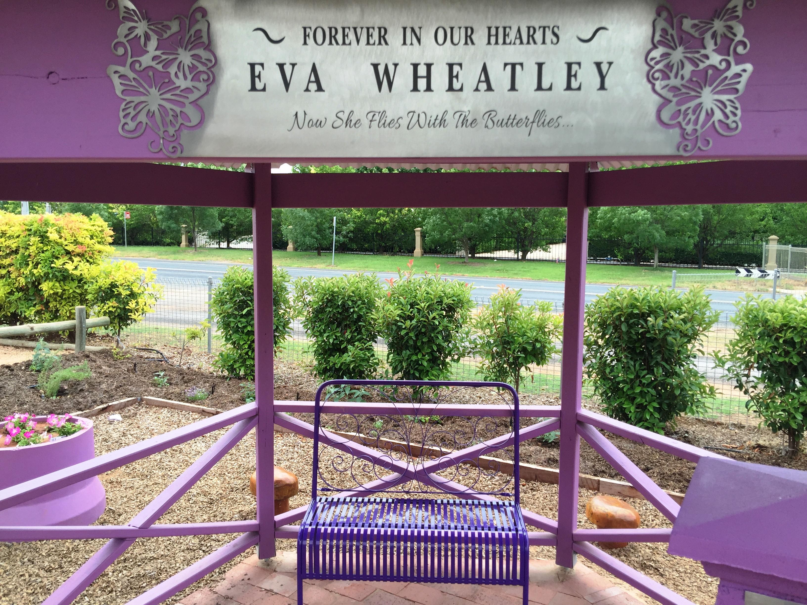Eva Memorial Plaque