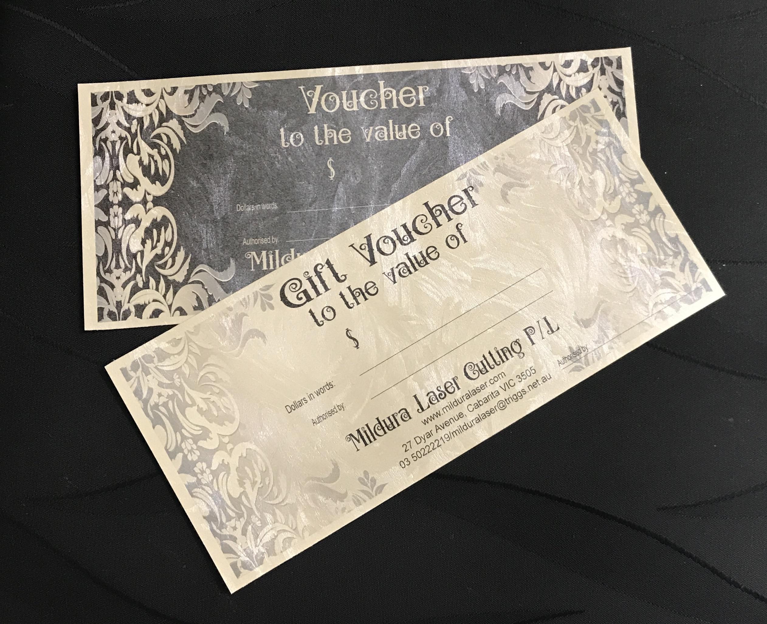 Gift Certificates Mildura Laser