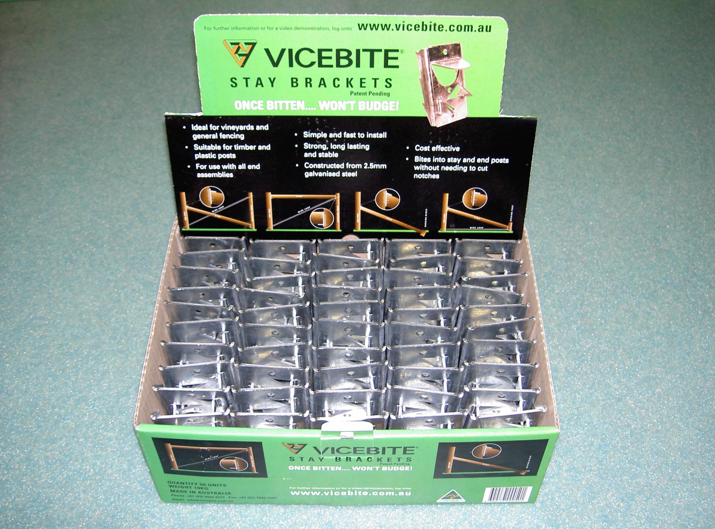 Vicebite display box
