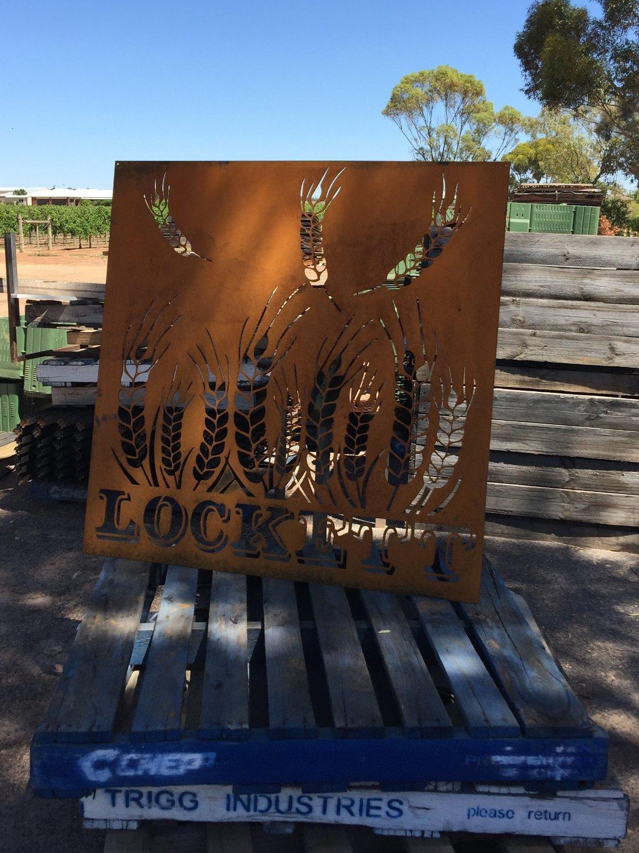Lockett Property Sign