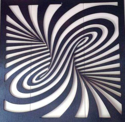 Swirl Design Before Cutting