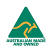 Australian Made & Owned full colour logo