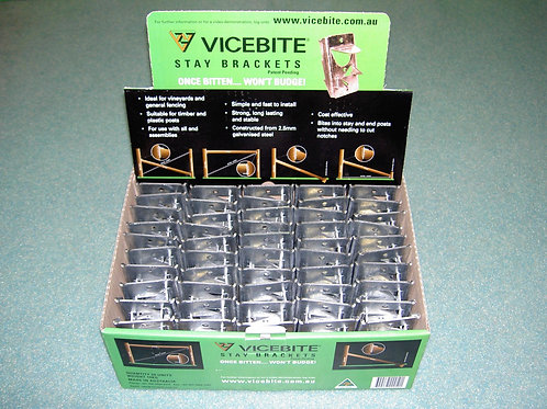 ViceBite 50 Pack Fence Brackets