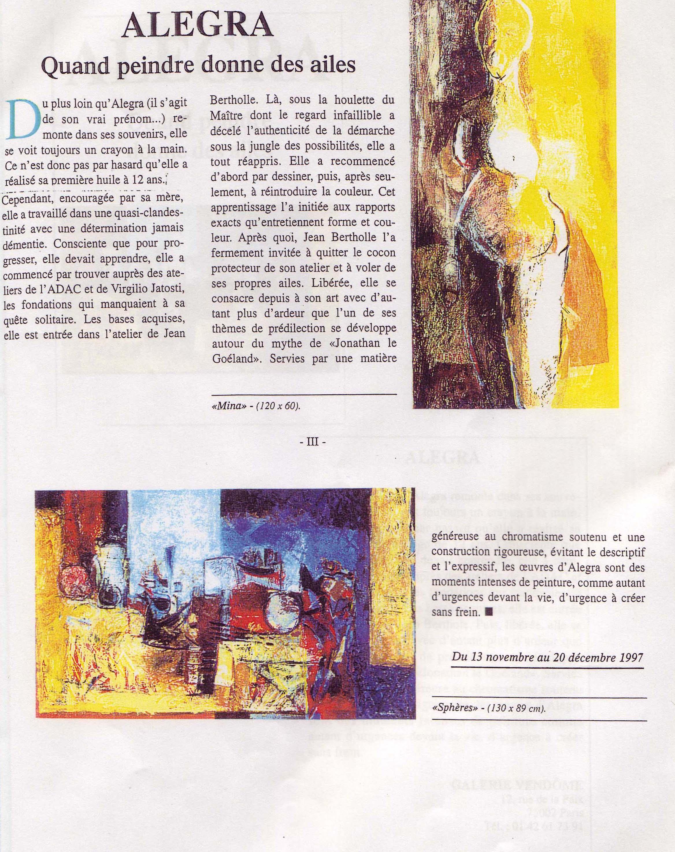 vendôme 1997