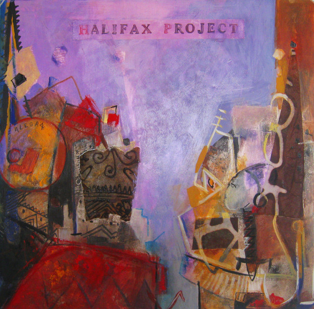 Disque vynil Halifax Project   Recto