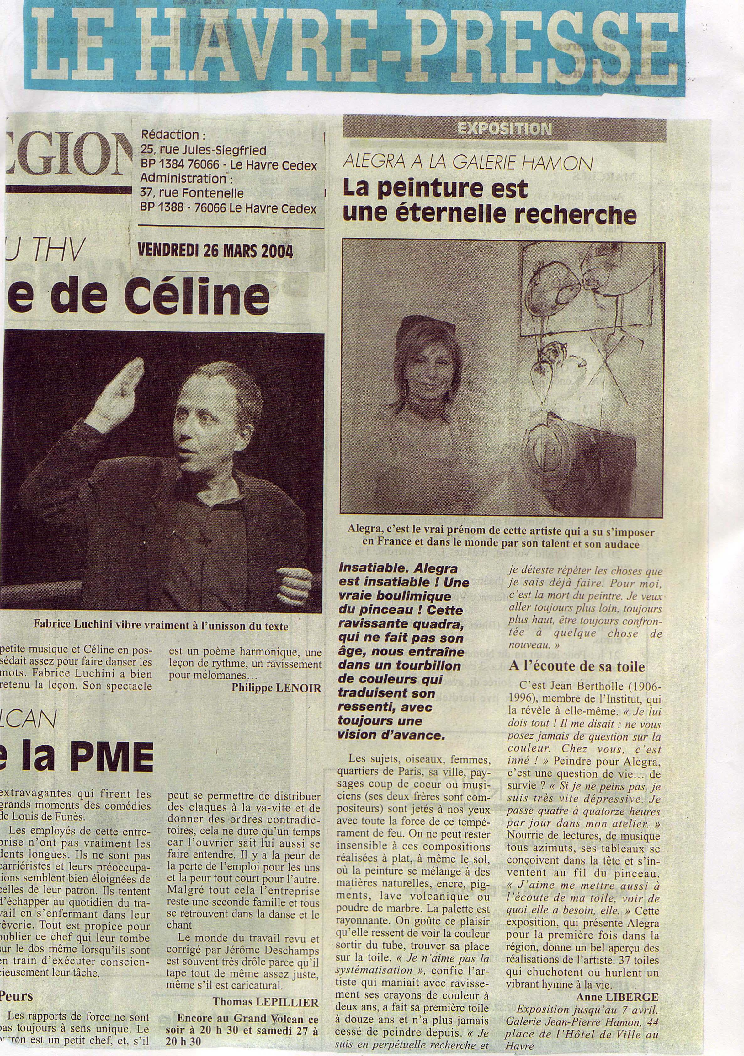havre presse 2004