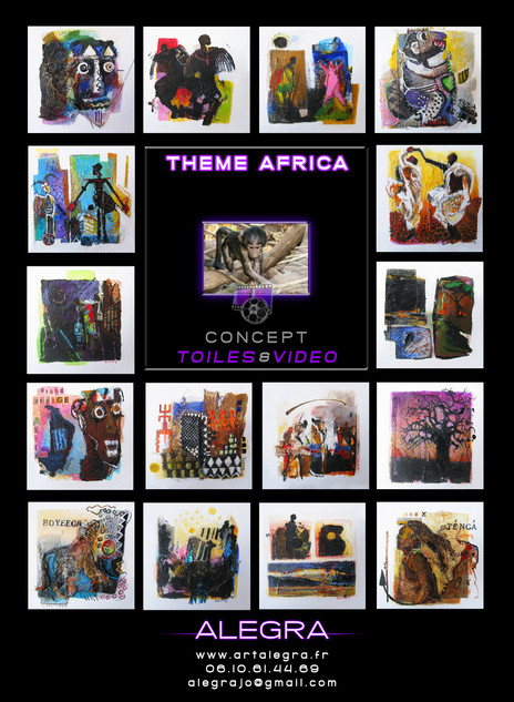 PRESENTATION CONCEPT TOILES CARREES AFRICA
