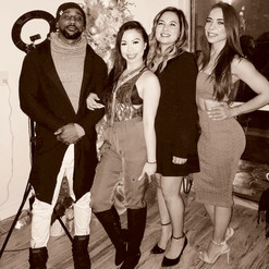 Grand Opening with Prince, Amina, Lindsey, Melissa Arenas