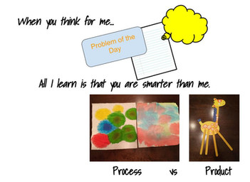 """Balancing Process and Product: Curing The Game Show Syndrome of Rushing to the """"Right"""" Answer"""