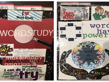 What Do Our Word Study Notebooks Look Like?