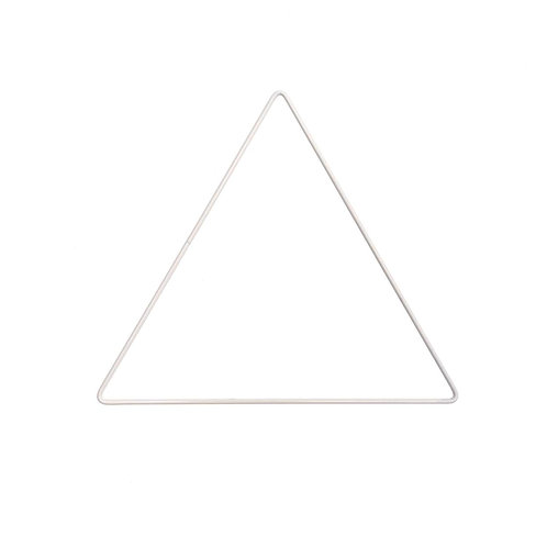 Triangle métallique 20 cm