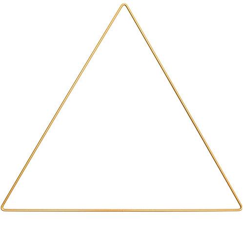 Triangle métallique 30 cm