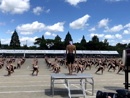末吉中学校体育祭に行ってきました
