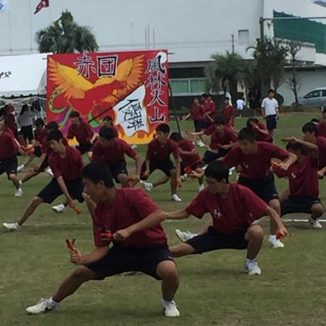 志布志高校、曽於高校 体育祭に行ってきました