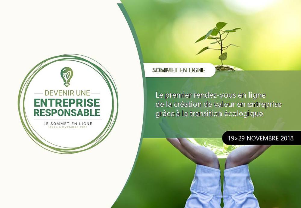 Sommet en ligne : devenir une entreprise responsable