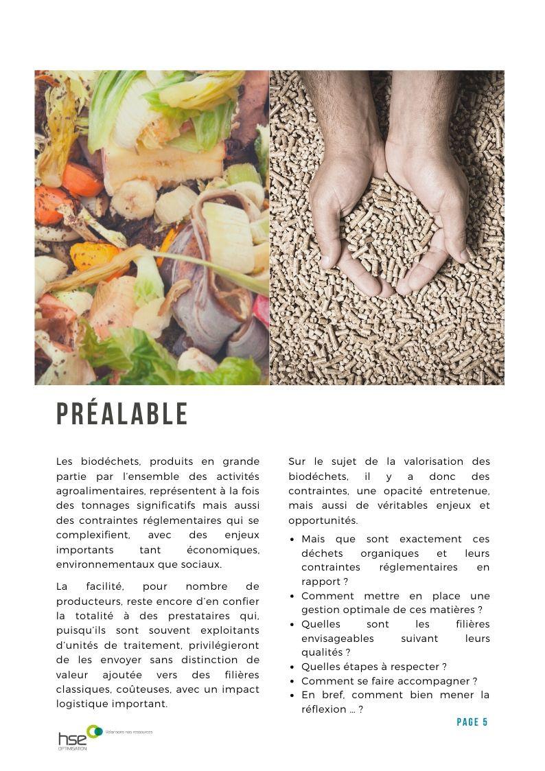 Préalable - Livre Blanc - Biodéchets