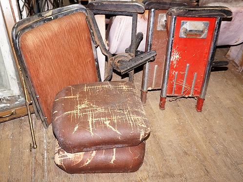Double Theater Seat - Art Deco Style