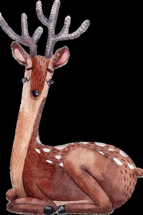Mixed Media Art Kit: Reindeer Sculpture