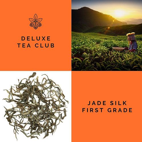 JADE SILK FIRST GRADE - GREEN