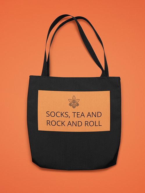 Tote Bag - Socks, Tea and Rock and Roll