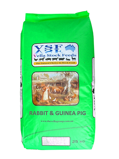 Vella Rabbit and Guinea Pig Pellet 20kg