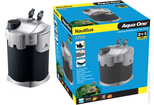Aqua One Nautilus 2700 Canister Filter