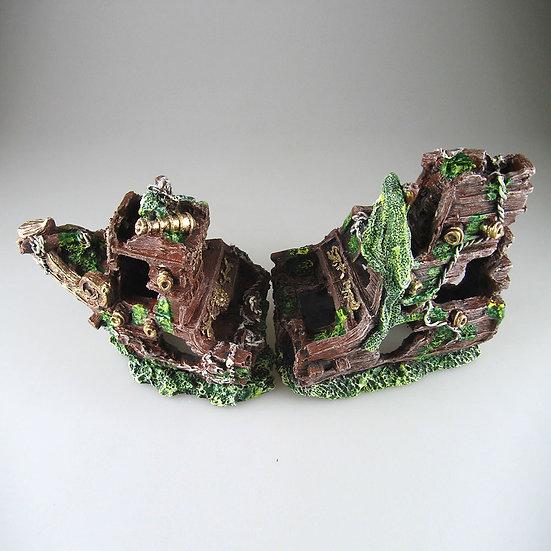 Two Piece Shipwreck (38cm) - 3104S