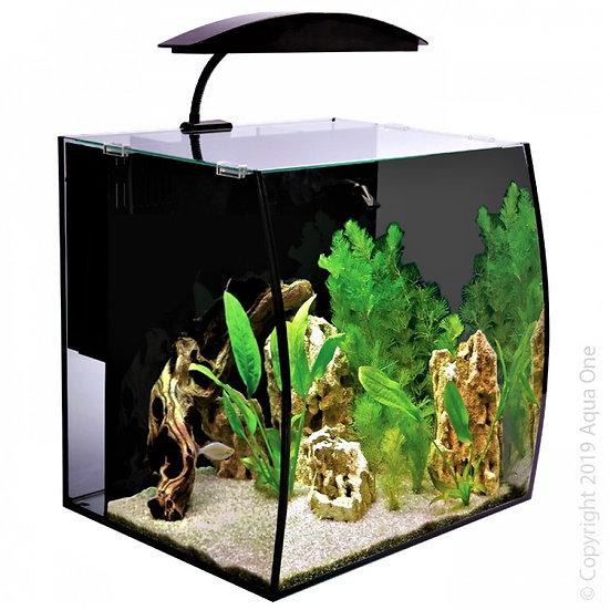 Aqua One Arc 46 Litre Nano Aquarium Fish Tank