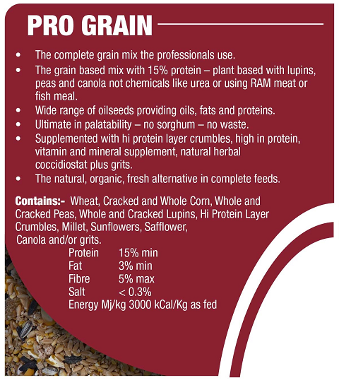 Avigrain Pro Grain Chicken Scratch Mix 20 kg