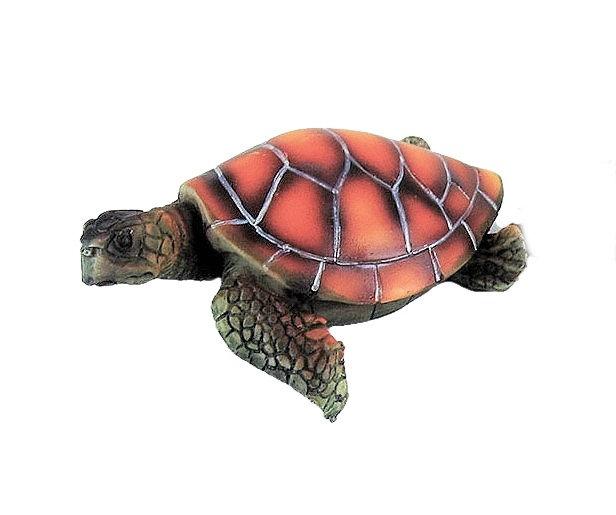 Realistic Sea Turtle Aquarium Ornament (11cm)