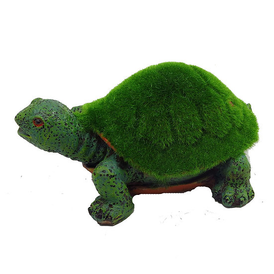 Midsize Artificial Moss Tortoise (14.5cm)