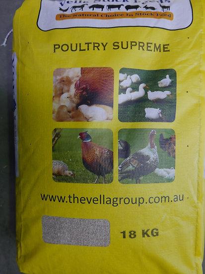 Vella Poultry Supreme Chicken Pellets 18kg